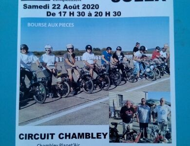 Sortie Solex Chambley(54) 22 août 2020